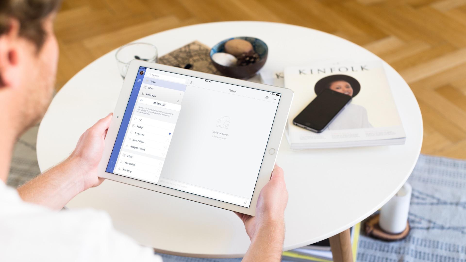 TickTick on iPad
