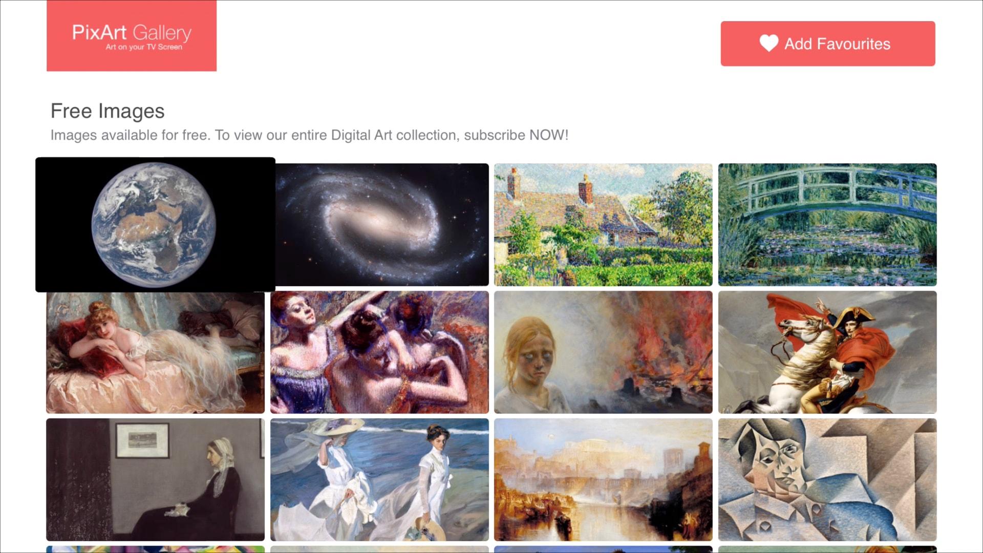 PixArt Gallery free images