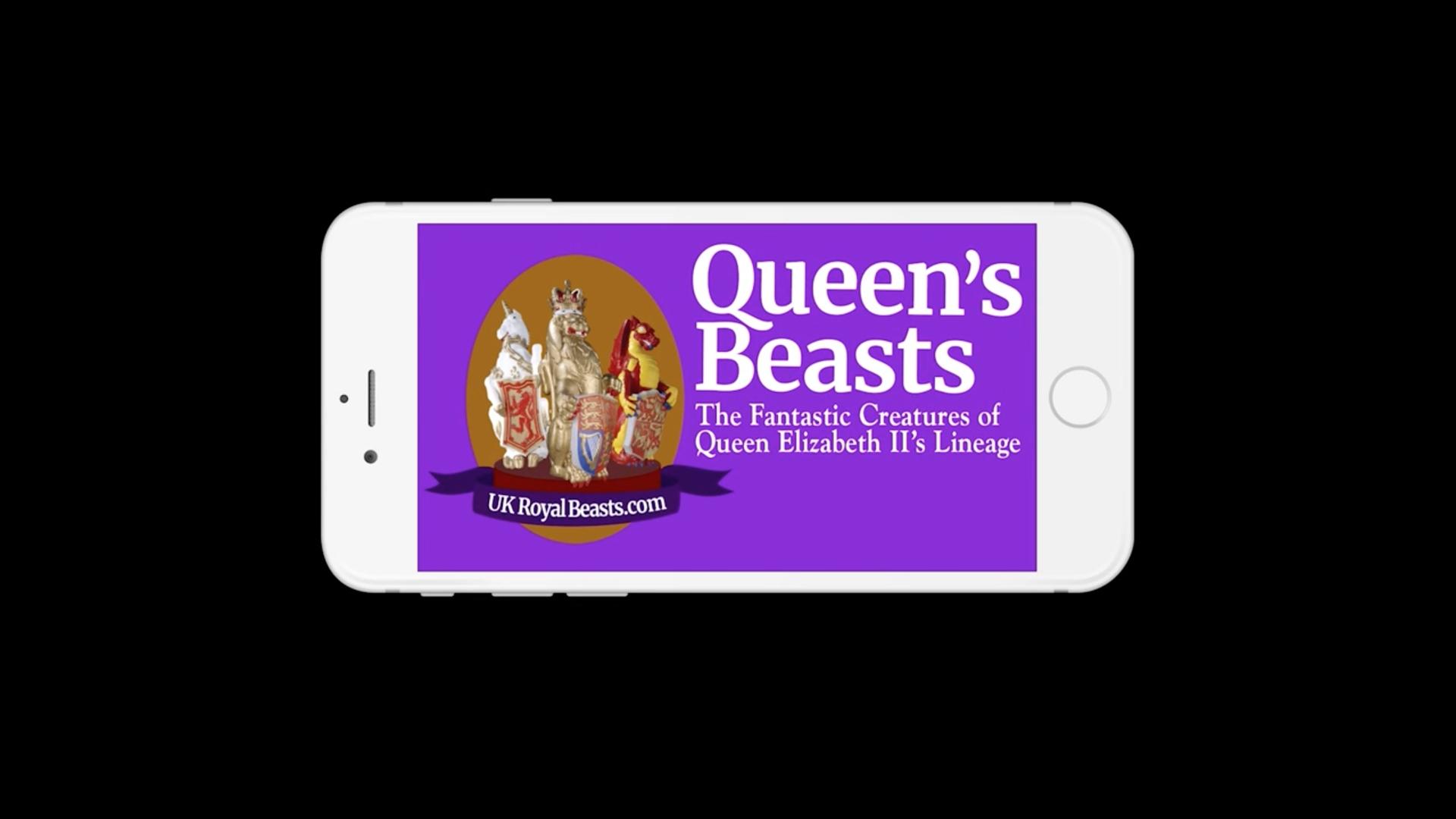 Queens Beasts App iPhone