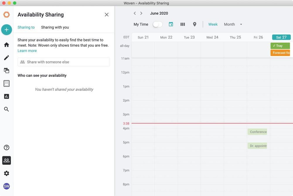 Woven Calendar Mac Availability
